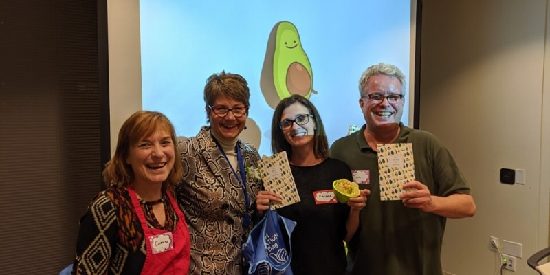 The Great Guac Off offers fun team building activities in Seattle with food.